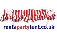 Rent a party tent logo