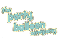 the party balloon company logo
