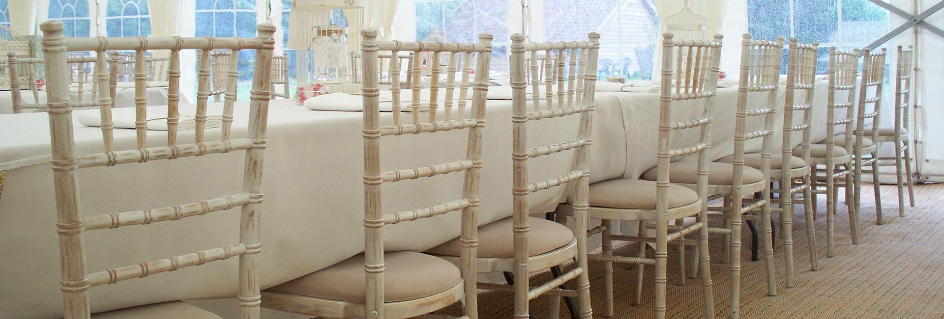 White lime wash chiavari chairs ipswich suffolk