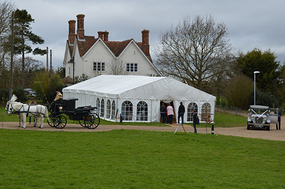 marquee at Copdock Hall barn - Wedding and Events Venue Church Ln, Copdock, Ipswich IP8 3JZ