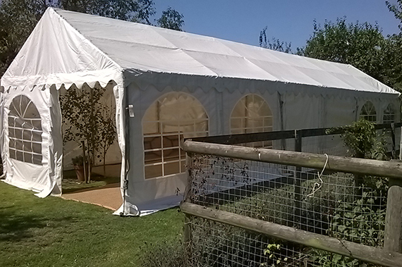 party tent marquee in chelmsford essex