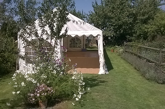party tent marquee for a party in chelmsford essex