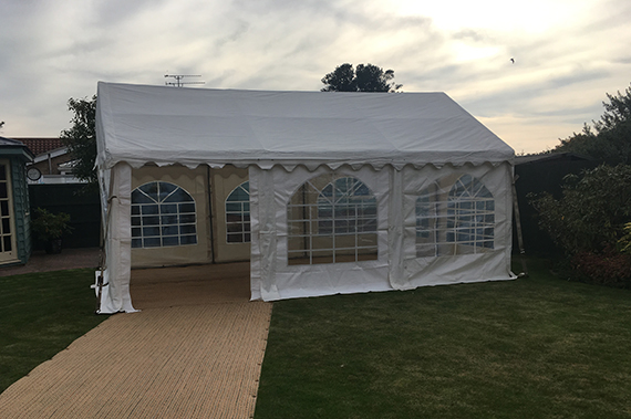 party tent in ipswich suffolk