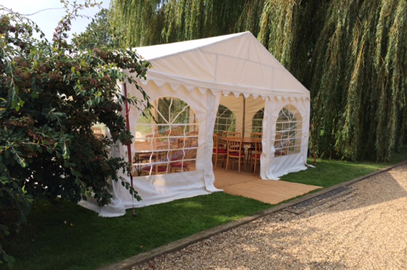 party tent in suffolk