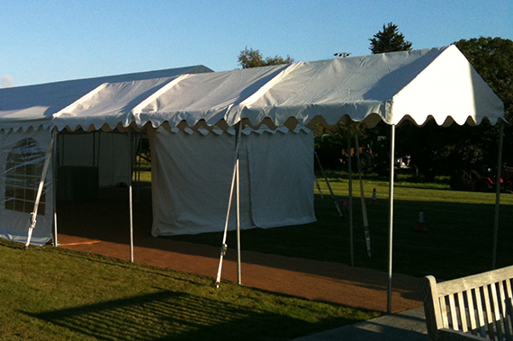 party tent marquee walkway in suffolk