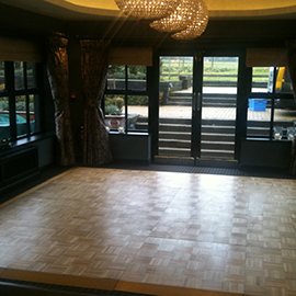 wooden dance floor hire suffolk and essex