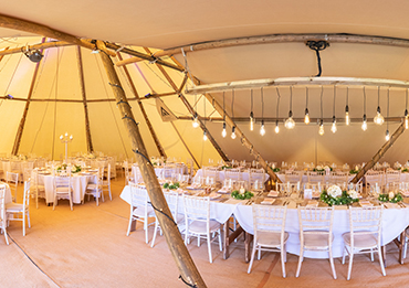giant tipi hire suffolk and essex